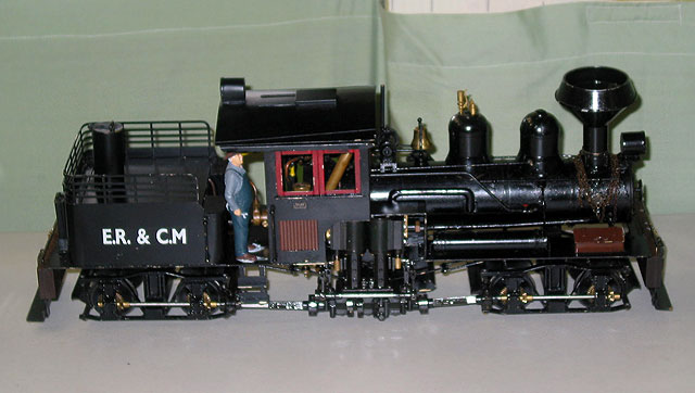 HO Scale Shay Model Locomotives http://www.modeltrainsnthings.com/brisbane-exhibition-2009/scratch-built-shay.html