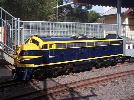 Giant A** model trains that you can ride around your yard - AR15 COM