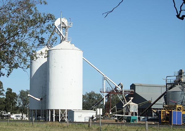 grain storage facilities