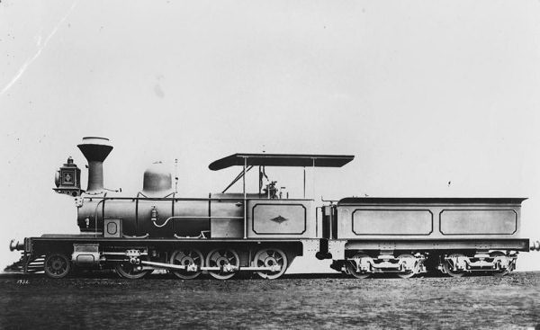 Queensland Railways C13 (Dubs) Loco