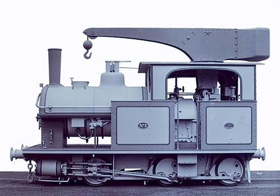 6D11½ Crane Class of the Queensland Government Railways